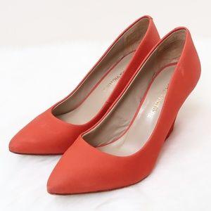 Pour La Victoire Mai Pointy Wedge Heels 8